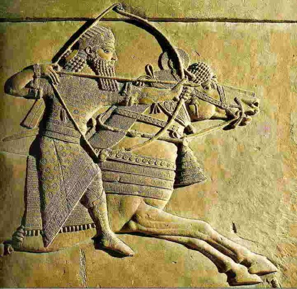 The Assyrians were not to be messed with and everybody knew it!