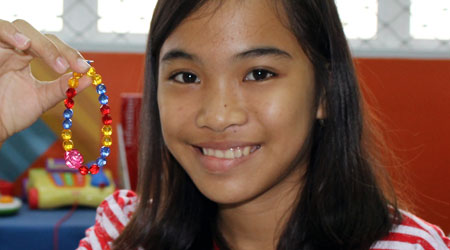 Bethany, healed at CURE Philippines