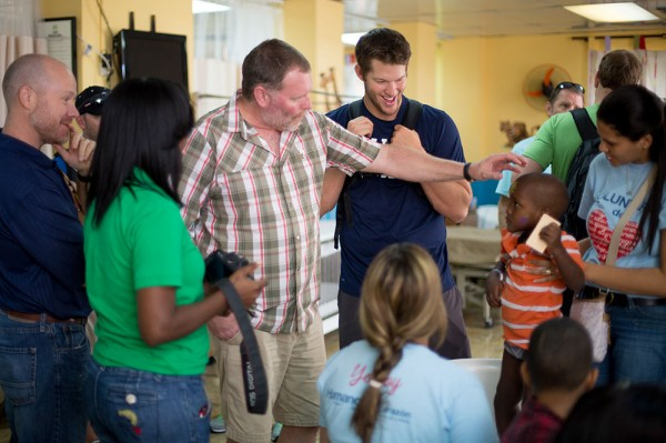 Clayton Kershaw and CURE Dominican Republic