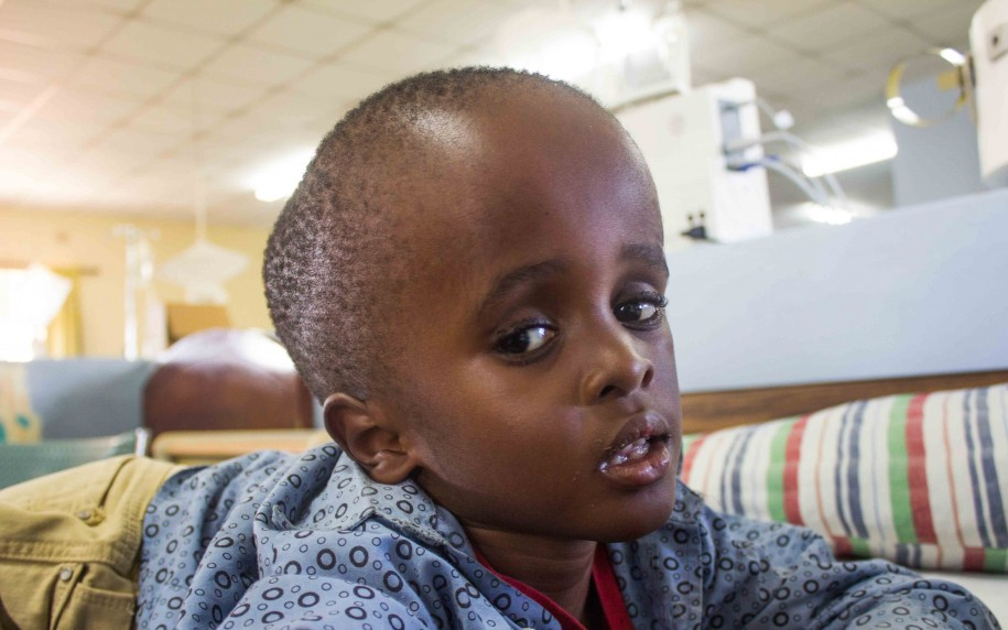 Robsonhas such a big heart! Despite his own struggles with hydrocephalus, he keeps inviting other kids and babies to his bed so that he can pray for their healing!