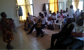 CURE Clubfoot Rwanda: Raising awareness in the community