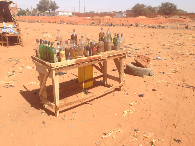 Gas Station in Niger