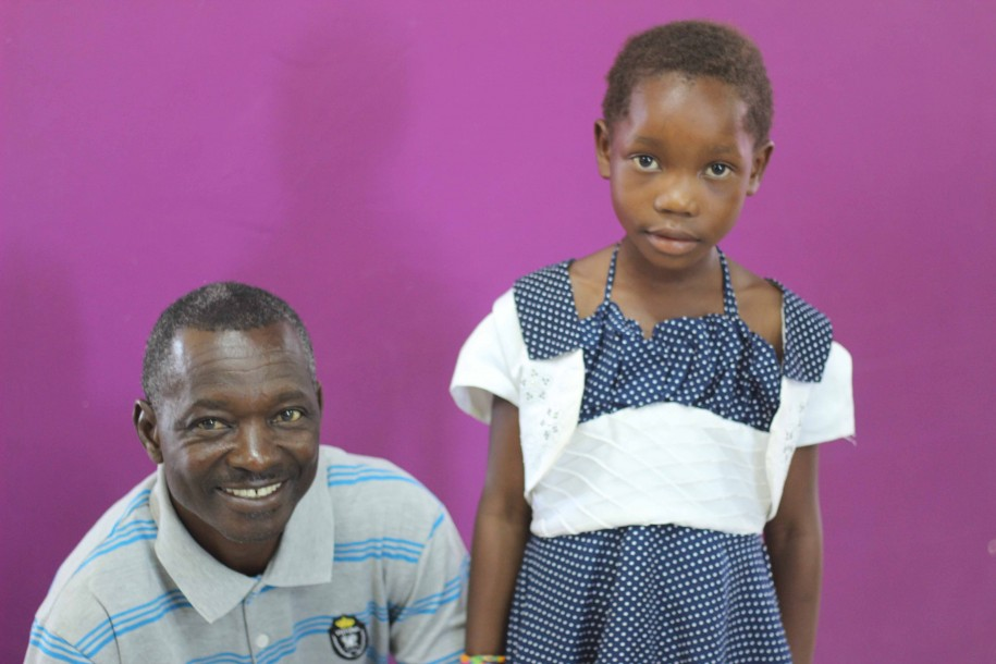 Mwamba and her grandfather. Healing changes everything.