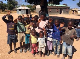 Children of a family who committed their lives to Christ during our visit