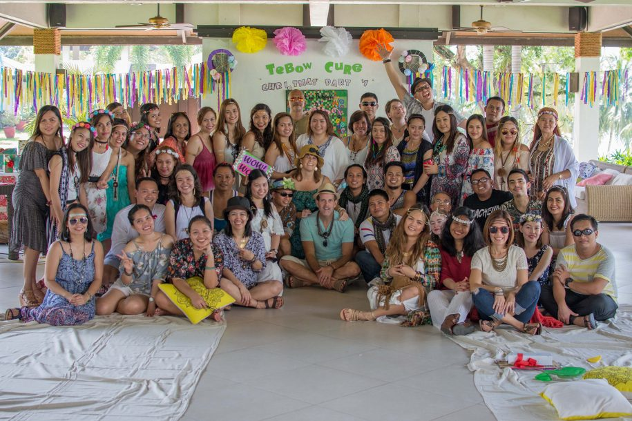 The Tebow CURE staff wrapped up their year with a bohemian-themed Christmas party. Thank you so much for partnering with us as we serve children with disabilities here in the Philippines!
