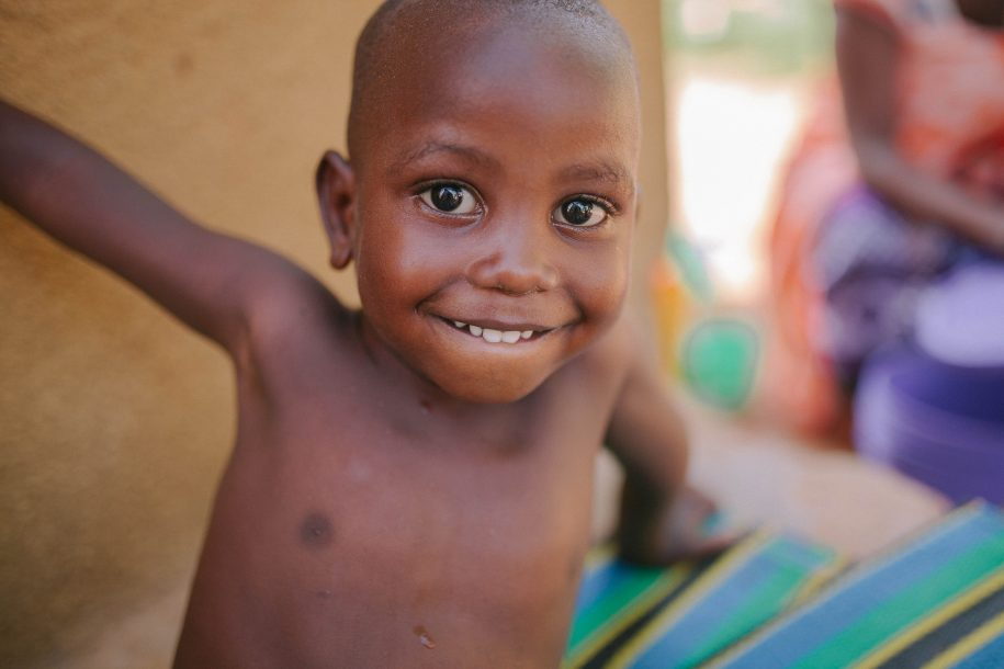 We spent Christmas in Tanzania, and we met some cute kiddos while there!