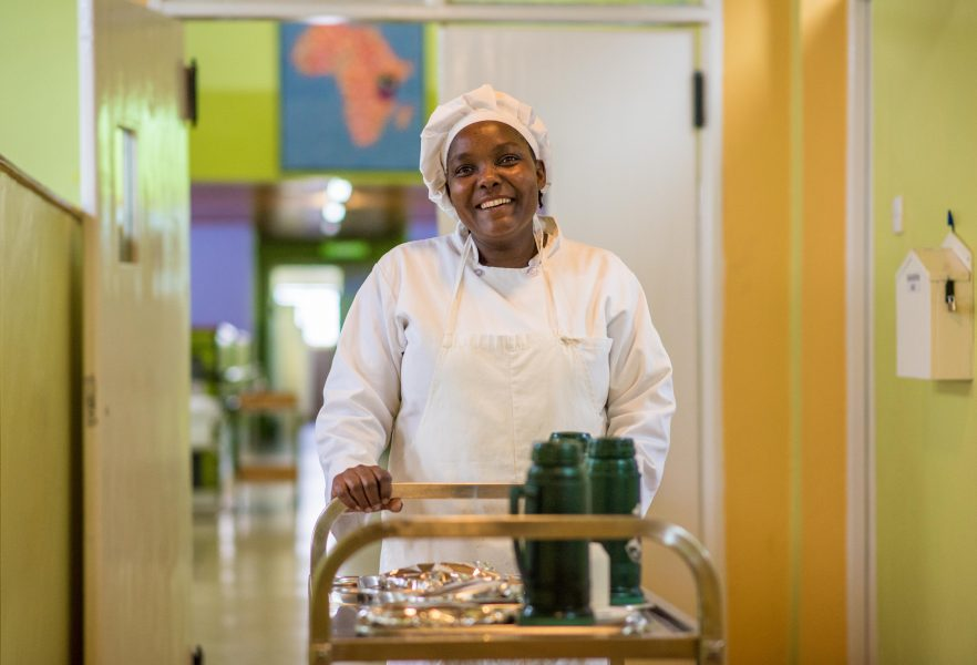 Eunice Nzisa Michael, Kitchen Staff