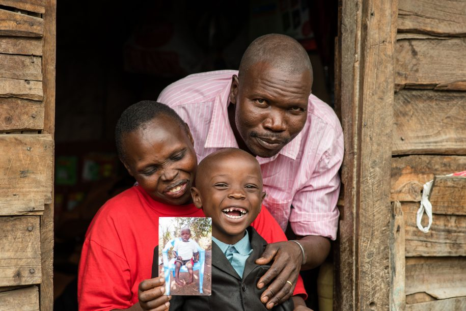 The joy of finding a CURE; Sammy's family thought that clubfoot could not be corrected until they found themselves in a CURE Clubfoot clinic.