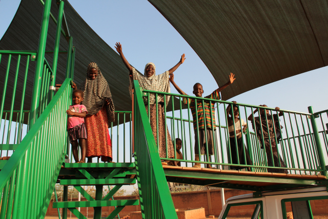 CURE Niger: Our playground is finished!