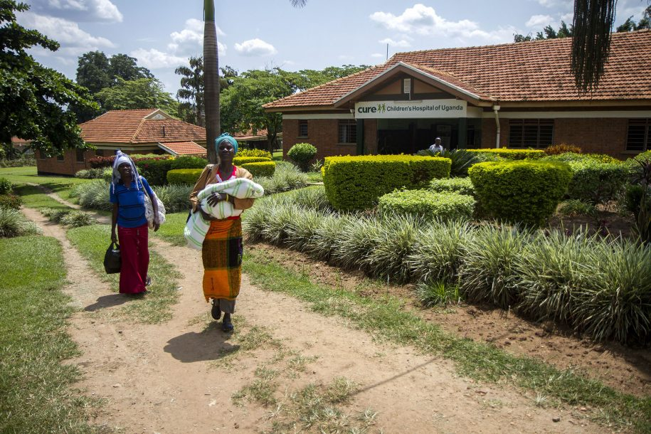 Annet and Aaron leave CURE after staying nearly a month at CURE Uganda.