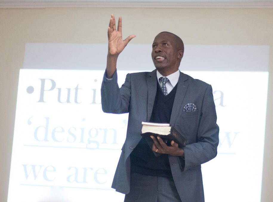 """We have a manual for life that was given to us by God, which is the Bible."" - Rev. Justus Mutuku."