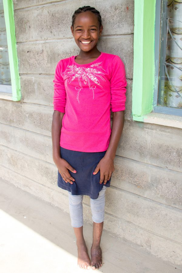 Wubalem heard the good news! After staying in the Alemachin house and at the hospital for quite some time, she gets to go home and be with her family!