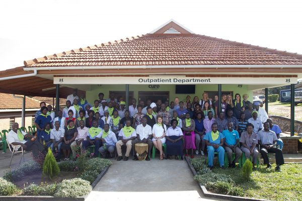 CURE Uganda celebrates opening of expanded Outpatient Department