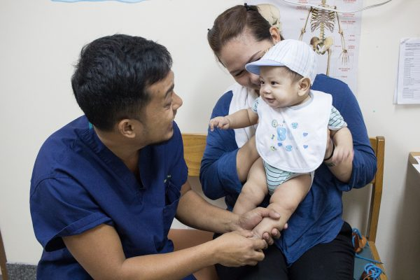 Nurse Jhun: Healing clubfoot is priceless