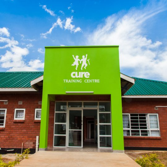 CURE Zambia celebrates new training centre