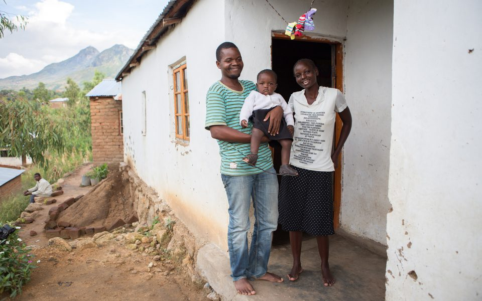 Bertha Kamanga, Home Visit, Infant Clubfoot, Malawi_6058