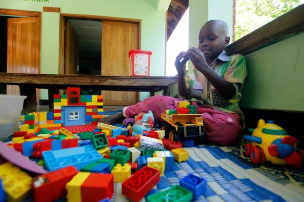CURE Uganda's new playroom provides rest for the weary