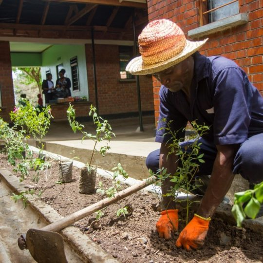 Unsung Heroes: The groundskeepers of CURE Uganda