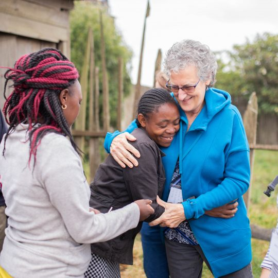 Volunteers from retirement village visit CURE Kenya
