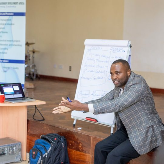 Pastors train at CURE Kenya