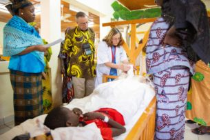 Paul and Maureen Sloan at CURE Niger