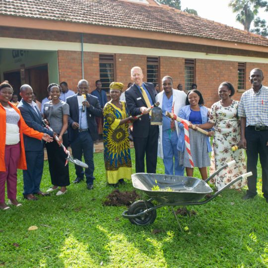CURE Uganda Chapel Groundbreaking and Dedication