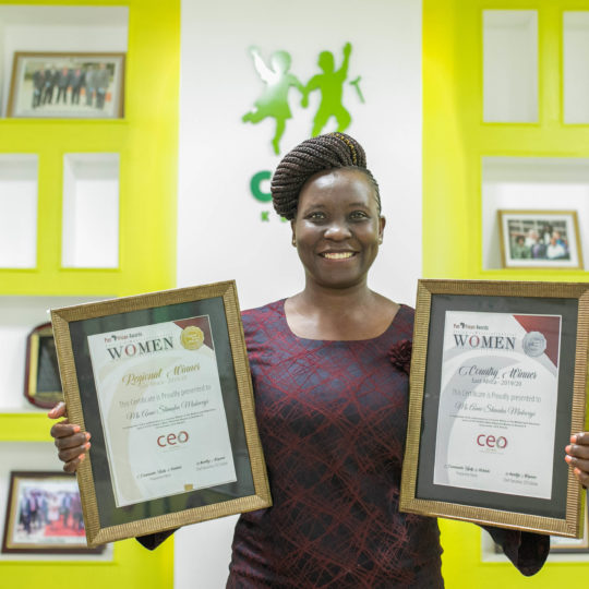 Anne Mulwa one of Africa's Most Influential Women in Business and Government