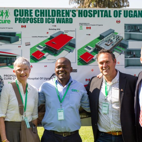 ICU Construction at CURE Uganda