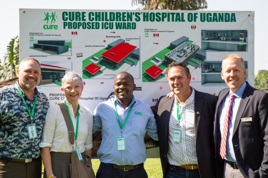 Canada board at CURE Uganda
