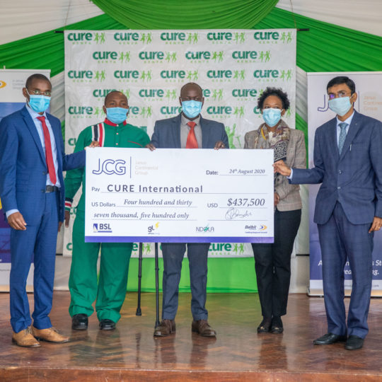 JCG Responds to the Need for PPE Gear with a Donation to CURE International