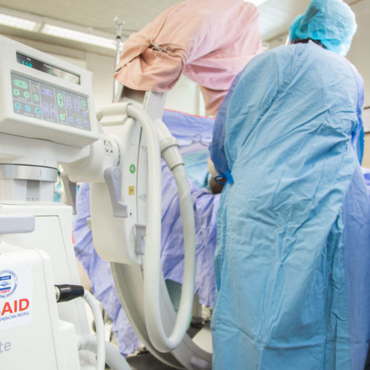 USAID/ASHA grant upgrades CURE Ethiopia's operating room equipment and equips its medical training center