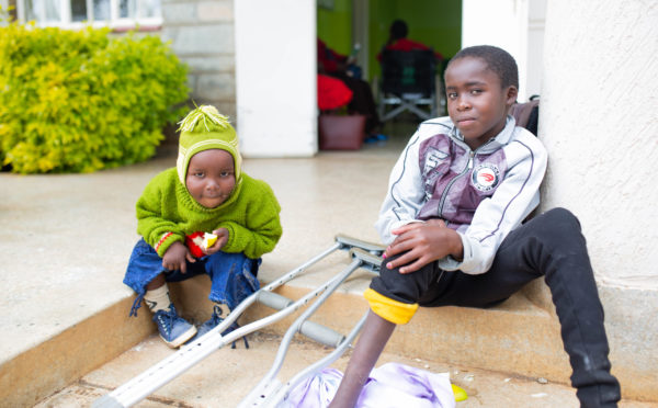The need for children's medical care in Kenya
