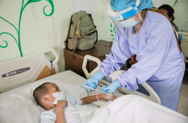 The need for children's medical care in the Philippines