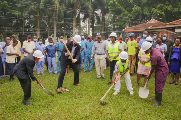 Breaking Ground for Expansion at CURE Uganda