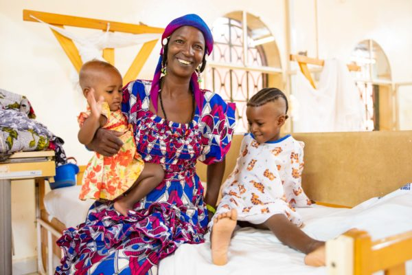 The need for children's medical care in Niger