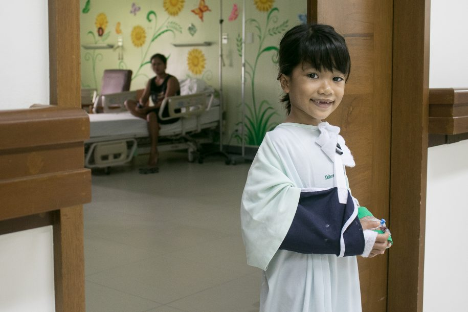 A photo of Samantha from Philippines. Learn more at https://cure.org/curekids/philippines/2017/02/samantha/