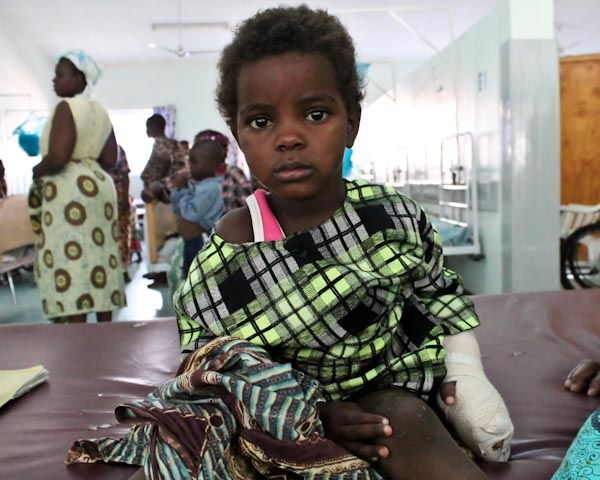 Photo of Hawa after treatment